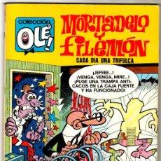 Tebeos: OLÉ Nº 87, EDITORIAL BRUGUERA 1971 1ª EDICCION, 80 PAGINAS, 40 PTS, MORTADELO Y FILEMON. Lote 27433563