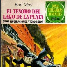 Tebeos: EL TESORO DEL LAGO DE LA PLATA - KARL MAY - JOYAS LITERARIAS - Nº 55 - ED. BRUGUERA. Lote 27542367
