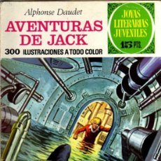 Tebeos: AVENTURAS DE JACK - ALPHOSE DAUDET - JOYAS LITERARIAS - Nº 89 1973- ED. BRUGUERA. Lote 27542642