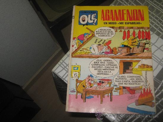 OLE Nº 13 AGAMENON,COMPLETO CON SUS 40 PAGINAS AÑO 1971. (Tebeos y Comics - Bruguera - Ole)