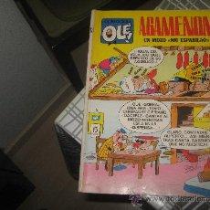 Tebeos: OLE Nº 13 AGAMENON,COMPLETO CON SUS 40 PAGINAS AÑO 1971.. Lote 27550589