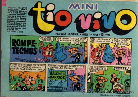 MINI TIO VIVO - AÑO I - Nº 3 - ED. BRUGUERA (Tebeos y Comics - Bruguera - Tio Vivo)