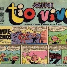 Tebeos: MINI TIO VIVO - AÑO I - Nº 5 - ED. BRUGUERA. Lote 27636791