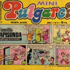 Tebeos: MINI PULGARCITO - AÑO I - Nº 3 - ED. BRUGUERA. Lote 27636800