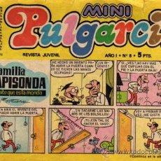 Tebeos: MINI PULGARCITO - AÑO I - Nº 8 - ED. BRUGUERA. Lote 27636801