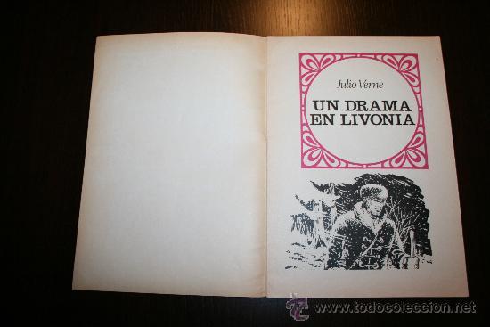 Tebeos: UN DRAMA EN LIVONIA - JULIO VERNE - JOYAS LITERARIAS JUVENILES - ED. BRUGUERA 1976 - Foto 3 - 27544854