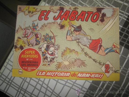 EL JABATO Nº 266 DE EPOCA (Tebeos y Comics - Bruguera - Jabato)