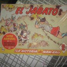 Tebeos: EL JABATO Nº 266 DE EPOCA . Lote 27641565
