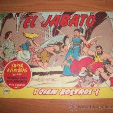 Tebeos: EL JABATO Nº 238 ORIGINAL EDITORIAL BRUGUERA . Lote 27673637