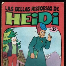 Tebeos: LAS BELLAS HISTORIAS DE HEIDI. Nº 32 - BRUGUERA. Lote 27687368