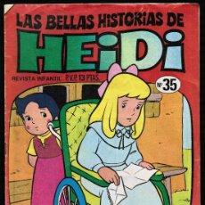 Tebeos: LAS BELLAS HISTORIAS DE HEIDI. Nº 35 - BRUGUERA. Lote 27687376