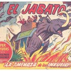 Tebeos: EL JABATO Nº.114, ORIGINAL. Lote 27750565