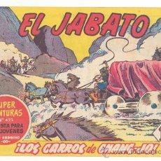 Tebeos: EL JABATO Nº.131, ORIGINAL. Lote 27750600