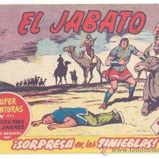 Tebeos: EL JABATO Nº.141, ORIGINAL. Lote 27750630