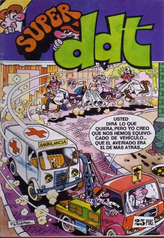 SUPER DDT - Nº 38 - 1976 - EDITORIAL BRUGUERA (Tebeos y Comics - Bruguera - DDT)