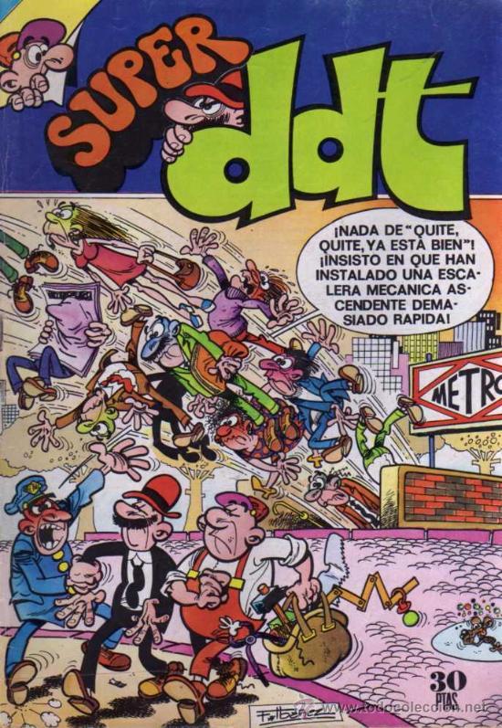 SUPER DDT - Nº 41 - 1976 - EDITORIAL BRUGUERA (Tebeos y Comics - Bruguera - DDT)