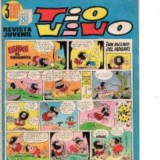 Tebeos: TIO VIVO Nº 489 DE BRUGUERA . Lote 27793078