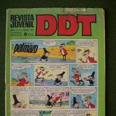 BDs: REVISTA JUVENIL DDT AÑO XVIII - NUM 109 - III EPOCA - 5 PTS PELMAZO CEBOLLETA ASTERIX ANACLETO GILDA. Lote 27828831