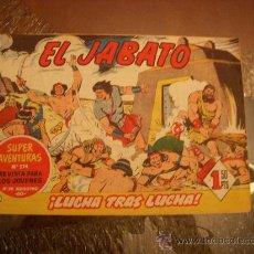 Tebeos: EL JABATO Nº 80, EDITORIAL BRUGUERA. Lote 27831667