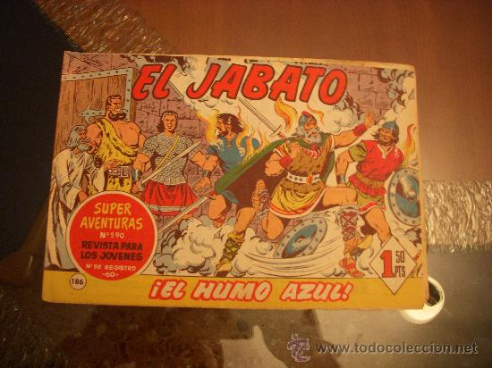 EL JABATO Nº 186, EDITORIAL BRUGUERA (Tebeos y Comics - Bruguera - Jabato)