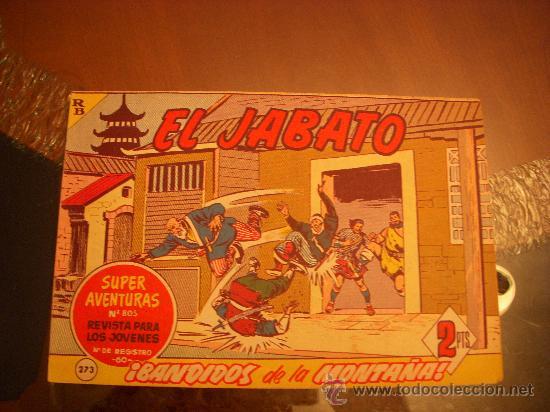 EL JABATO Nº 273, EDITORIAL BRUGUERA (Tebeos y Comics - Bruguera - Jabato)