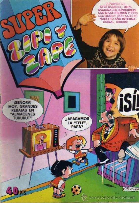 SUPER ZIPI Y ZAPE Nº 72 - 1979 - ED. BRUGUERA (Tebeos y Comics - Bruguera - Otros)