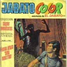 Tebeos: JABATO COLOR Nº 53 SEGUNDA EPOCA.. LITERACOMIC.. Lote 28267432