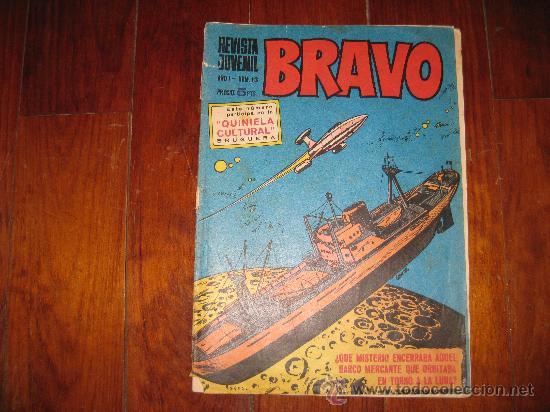 REVISTA JUVENIL BRAVO BRUGUERA Nº 13 (Tebeos y Comics - Bruguera - Bravo)