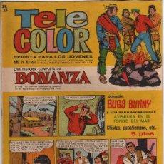 Livros de Banda Desenhada: (M-3) TELE COLOR AÑO IV NUM 161 - EDT BRUGUERA 1966 - SEÑALES DE USO. Lote 27944539