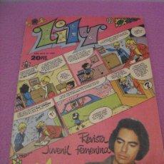 Tebeos: LILY Nº 852 ... + POSTER DE MIGUEL GALLARDO + PUBLICIDAD MUÑECAS TOYSE ** BRUGUERA - 1978. Lote 27965692