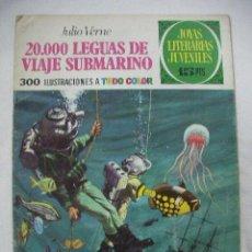 Tebeos: ANTIGUO COMIC JOYAS LITERARIAS JUVENILES 20000 LEGUAS DE VIAJE SUBMARINO - ENVIO GRATIS A ESPAÑA. Lote 28116661