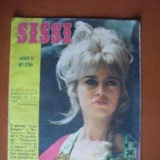 Livros de Banda Desenhada: SISSI Nº 236 -- 15 OCTUBRE 1962 - PORT. BRIGITTE BARDOT. Lote 28158485