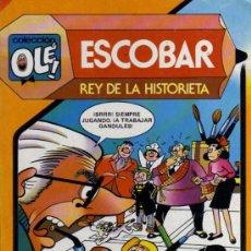 Tebeos: ESCOBAR - REY DE LA HISTORIETA - COLECCIÓN OLÉ Nº 291 - ED. BRUGUERA. Lote 28176452