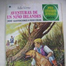 Tebeos: JOYAS LITERARIAS JUVENILES - AVENTURAS DE UN NIÑO IRLANDES DE JULIO VERNE - ENVIO GRATIS A ESPAÑA. Lote 28215574