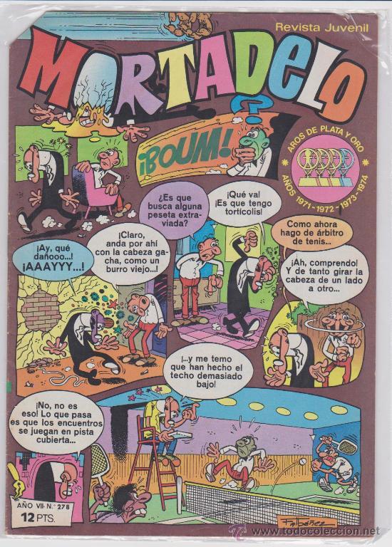 MORTADELO Nº 278. (Tebeos y Comics - Bruguera - Mortadelo)