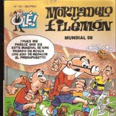 Tebeos: OLE MORTADELO Y FILEMON 137. Lote 28249044
