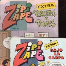 Tebeos: ZIPI ZAPE EXTRA - ZIPI ZAPE ESPECIAL , LOTE DE 5 EJEMPLARES. Lote 28251838