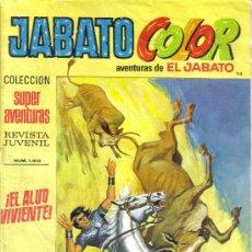 Tebeos: JABATO COLOR Nº 115. LITERACOMIC.. Lote 28288636