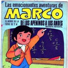 Tebeos: LAS EMOCIONANTES AVENTURAS DE MARCO. BRUGUERA. NÚMERO 5. EL COLEGIO.. Lote 28295784