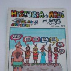 Tebeos: *HISTORIA DE AQUI CAP. Nº 3, JUNTOS PERO SÍ REVUELTOS*, POR* FORGES*, EDITORIAL BRUGUERA, AÑO 1980. Lote 28334974