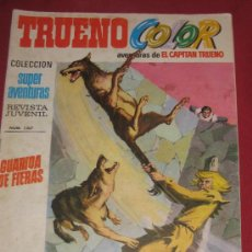Tebeos: TRUENO COLOR - PRIMERA EPOCA - GUARIDA DE FIERAS Nº 42 . Lote 28335864