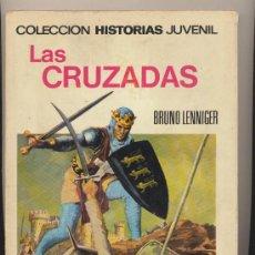 Tebeos: COLECCIÓN HISTORIAS JUVENIL Nº 8. LAS CRUZADAS 1ª EDICIÓN BRUGUERA 1968.. Lote 28334351