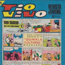 Tebeos: TIO VIVO Nº 364 CON CROMOS DE FUTBOL RODILLA-COBO-ZALDUA-PONCE. Lote 28351146