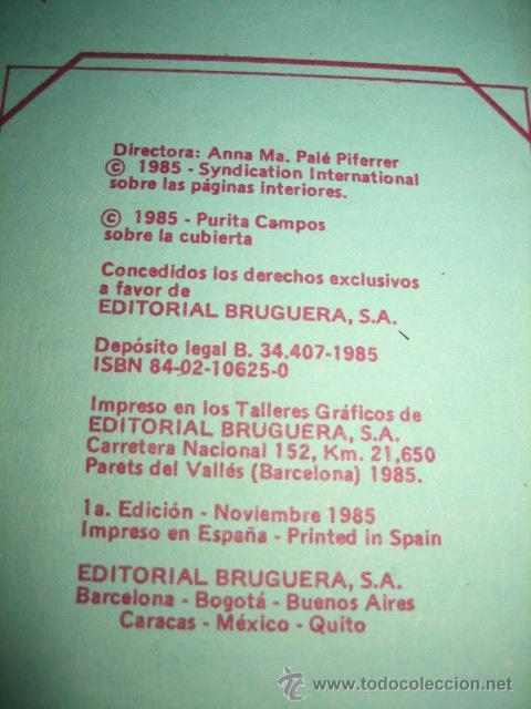 Tebeos: ESTHER Y SU MUNDO SERIE AZUL TOMO Nº 10 .....1ª EDICION 1985 - Foto 9 - 28394067