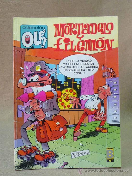 COMIC, MORTADELO Y FILEMON, BRUGUERA, 1988, COLECCION OLE, Nº 71 (Tebeos y Comics - Bruguera - Ole)