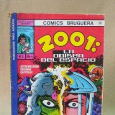 Tebeos: COMIC, 2001 LA ODISEA DEL ESPACIO, BRUGUERA, Nº 2, 1978. Lote 28423245