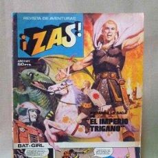 Tebeos: COMIC, ZAS, REVISTA DE AVENTURAS, AÑO I, Nº 1, BRUGUERA, 1979. Lote 28447088