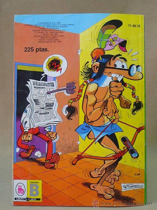 Tebeos: COMIC, MORTADELO Y FILEMON, BRUGUERA, 1988, COLECCION OLE, Nº 71 - Foto 2 - 28422734