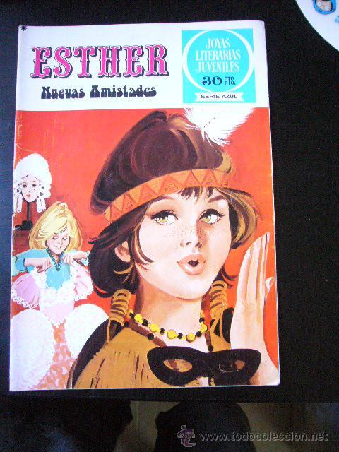 ESTHER JOYAS LITERARIAS JUVENILES SRIE AZUL Nº 12 BRUGUERA 1ª EDICION .C24X3 (Tebeos y Comics - Bruguera - Esther)