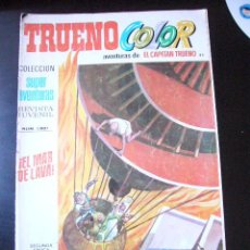 Tebeos: TRUENO COLOR Nº 82 SEGUNDA EPOCA 1976 BRUGUERA SUPER AVENTURAS CAPITAN TRUENO EL MAR DE LAVA¡....C6. Lote 28533656